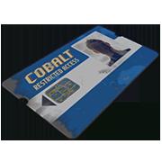 Blue Keycard