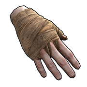 Burlap Gloves
